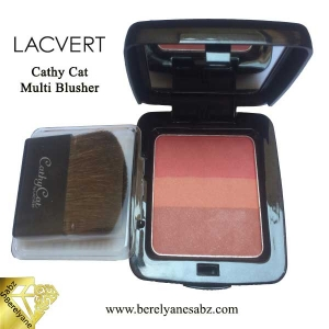 رژگونه سه رنگ کتی کت لاکورت Cathy Cat Multi Blusher