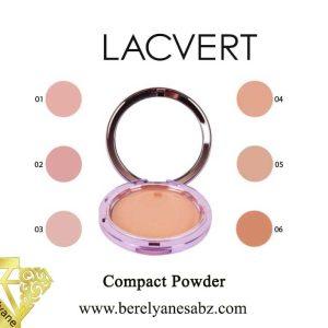 پنکیک فشرده گیاهی لاکورت Lacvert Compact Powder