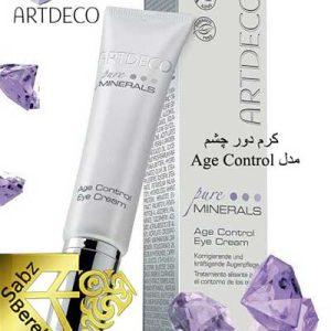 کرم دور چشم مینرال آرت دکو Artdeco Age Control Eye Cream