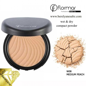 پنکیک فشرده دوکاره فلورمار Flormar wet & dry compact powder