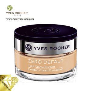کرم پودر کامفورت ایو روشه Yves Rocher comfort cream foundation