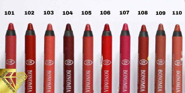رژلب مدادی مات بونومیا BONOMIA محصول آلمان