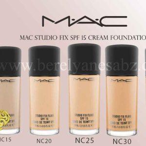 کرم پودر Studio Fix SPF15 مک M.A.C محصول آمریکا
