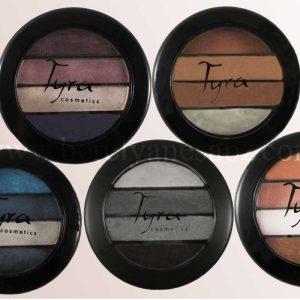 سایه چشم چهار رنگ تایرا Tyra محصول ترکیه