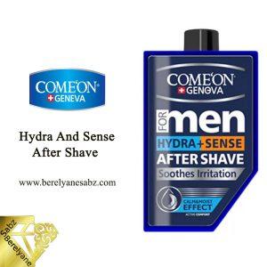 ژل افترشیو آبرسان و ضد حساسیت مردانه کامان Comeon Hydra And Sense After Shave