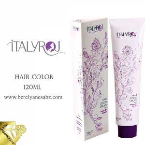 رنگ موی حرفه ای ایتالی رژ ItalyRoj Hair Color
