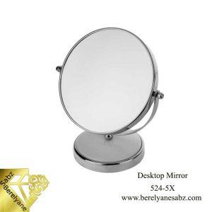 آینه آرایشی رومیزی با بزرگنمایی Desktop Mirror 524-5X