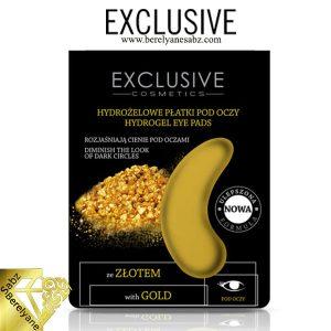 پد اکسکلوسیو دور چشم و احیاکننده قوی طلاExclusive Gold Extract