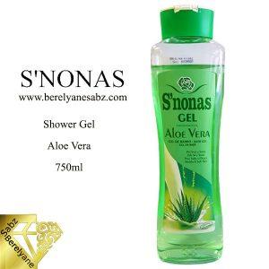 شامپو بدن آلوئه ورا اسنوناس S'nonas Shower Gel Aloe Vera