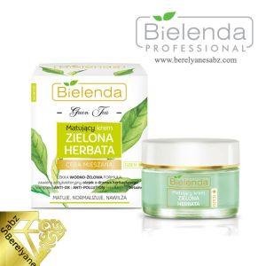 کرم روز مات کننده چای سبز بیلندا Bielenda Green Tea Matting